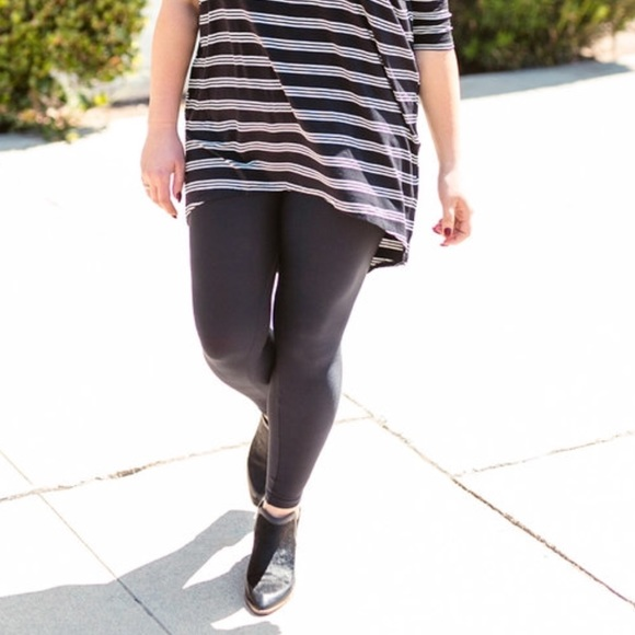 skilful manufacture selected material outlet for sale LuLaRoe Tall & Curvy Solid Black Leggings